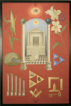 Second Degree tracing board, circa 2002.